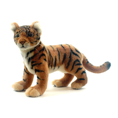 "Hansa Tiger Cub 12"" Plush Toy"""