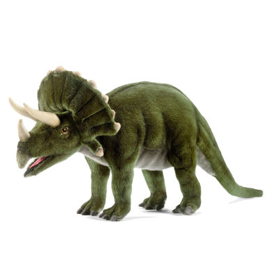 "Hansa Triceratops Dinosaur 20"" Plush Toy"""