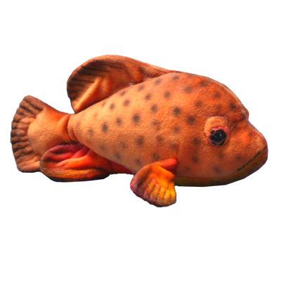 "Hansa Tropical Fish 12"" Plush Toy"""