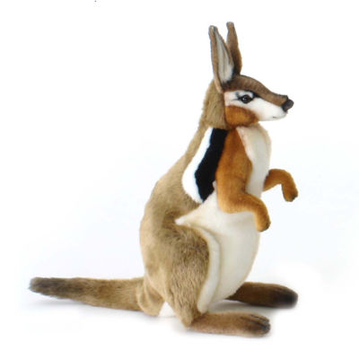 "Hansa Wallaby 14"" Plush Toy"""
