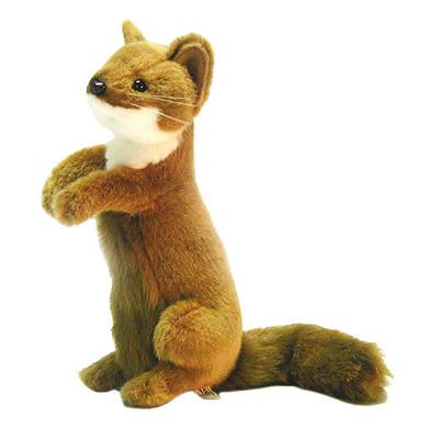 "Hansa Weasel 12"" Plush Toy"