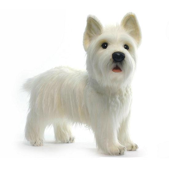 """Hansa West Highland Dog 20"""" Plush Toy"""