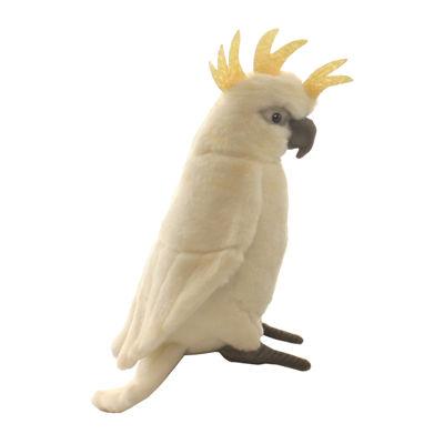 Hansa White Cockatoo Plush Toy