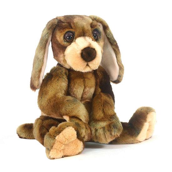 "Hansa Wow Wow Hound Dog 12"" Plush Toy"""