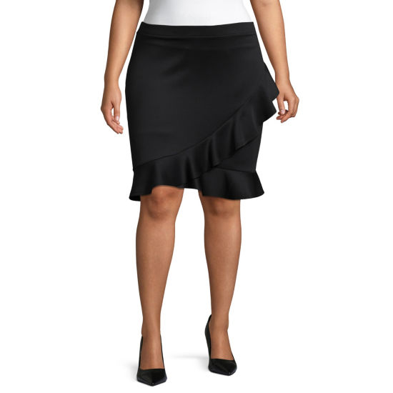 Bold Elements A-Line Skirt - Plus
