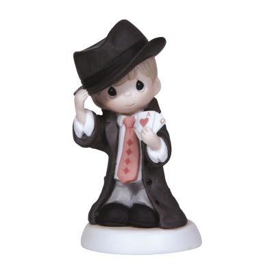 """Precious Moments """"Our Love Is One Of A Kind !"""" Bisque Porcelain Figurine"""