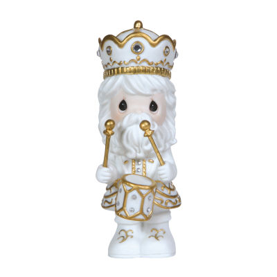 "Precious Moments  ""Treasured Holidays""  BisquePorcelain Figurine  1st in Annual Nutcracker Series  #121029"