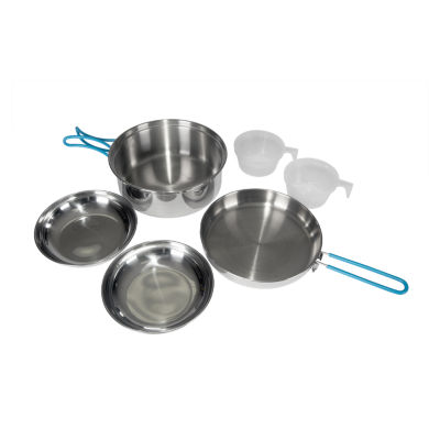 Stansport Two-Person Stainless Steel Cook Set