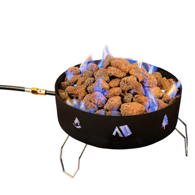 Stansport Propane Fire Pit - with Lava Rocks