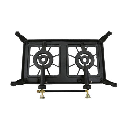 Stansport Cast Iron Stove - Double Burner