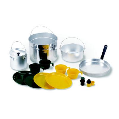 Stansport 16-Piece Aluminum Cook Set - Four-Person