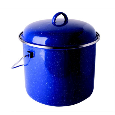 Stansport 7-Quart Enamel Straight Pot