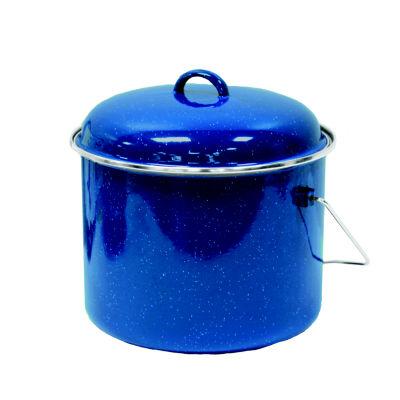 Stansport 9.5-Quart Enamel Straight Pot