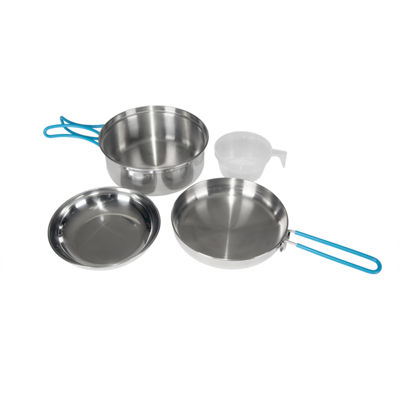 Stansport One-Person Stainless Steel Cook Set