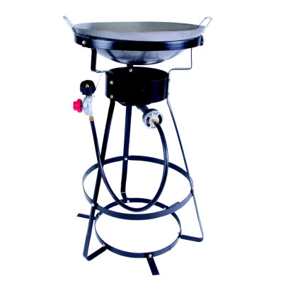 Stansport Outdoor Stove With Wok - One Burner