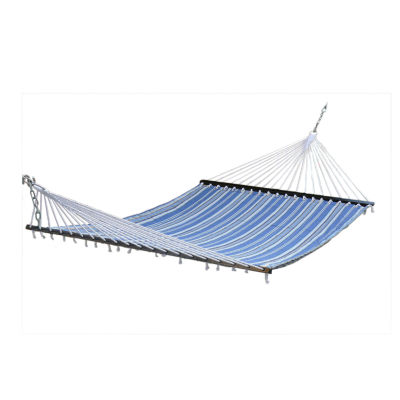 "Stansport Sunset Quilted Cotton Hammock - Double - (79"" x 55"")"