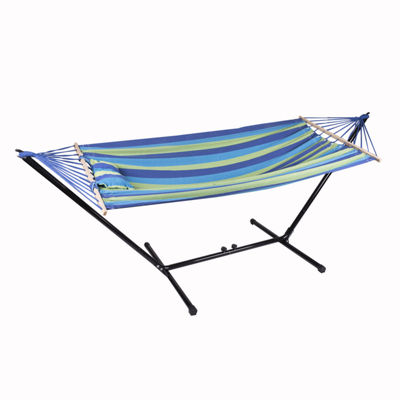 "Stansport Cayman Hammock/Stand Combo - 79"" x 48"""