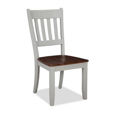 Covington Set of 2 Slat Back Chairs