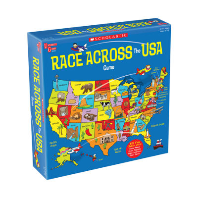 University Games Scholastic - Race Across the USAGame