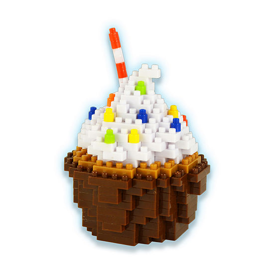 Bepuzzled 3d Pixel Puzzle - Cupcake: 245 Pcs