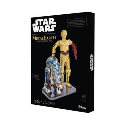 Fascinations Metal Earth 3D Metal Model Kit - StarWars R2-D2 & C-3PO Box Set