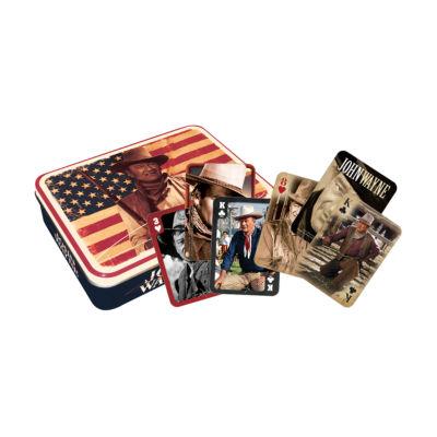 Aquarius John Wayne - Flag Special Edition PlayingCard Set in a Tin