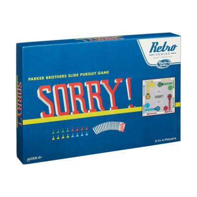 Hasbro Retro Series Sorry! - 1958 Edition