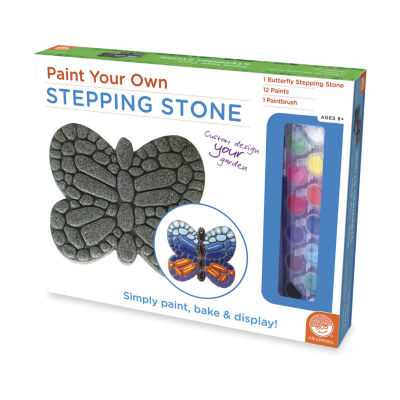 MindWare Paint Your Own Stepping Stone - Butterfly