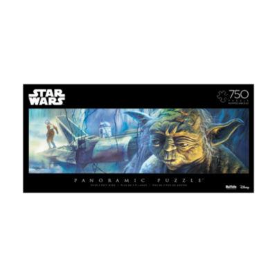 Buffalo Games Star Wars Panoramic Puzzle - Yoda: 750 Pcs