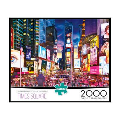 Buffalo Games Times Square Jigsaw Puzzle: 2000 Pcs