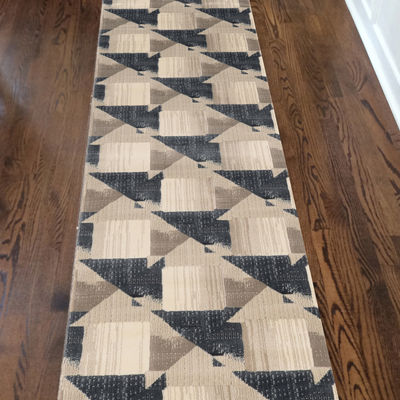 Iseo Nicola Modern Geometric Contemporary Area Rug