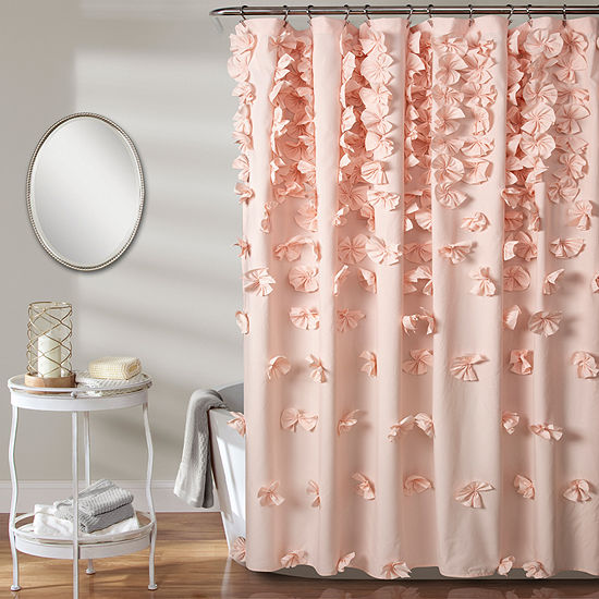 Lush Decor Riley Shower Curtain