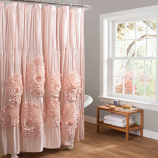 Lush Decor Serena Shower Curtain