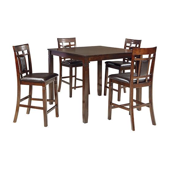Signature Design by Ashley® Bennox 5-Piece Counter Height Dining Set