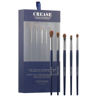 SEPHORA COLLECTION Crease: Uncomplicated Brush Set