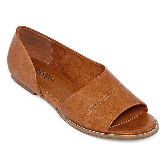 Arizona Womens Boley Open Toe Slip On Shoe