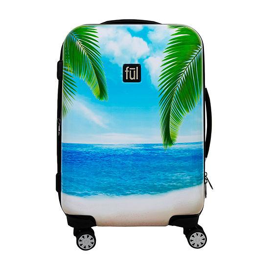 Ful Tropical 21 Inch Hardside Lightweight Luggage