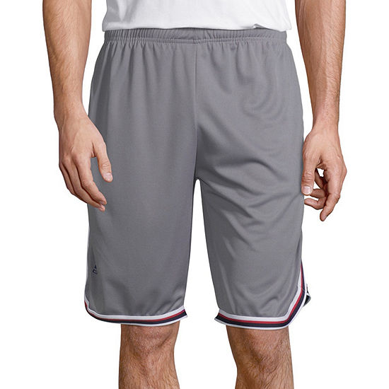 La Gear Mens Drawstring Waist Workout Shorts