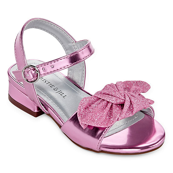 Christie & Jill Toddler Girls Lil-Ruby Pumps Block Heel