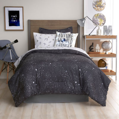 Frank And Lulu Glow in the Dark Astro Comforter Set