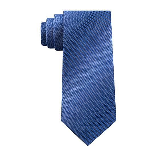 Van Heusen Solid Xlong Tie Tie
