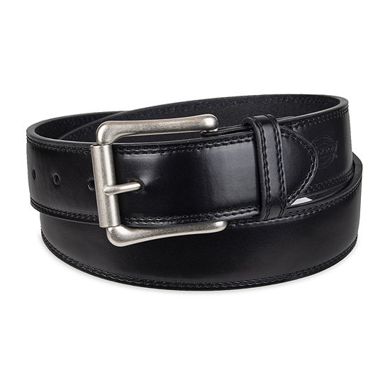 Dickies® Leather Men's Belt with Roller Buckle