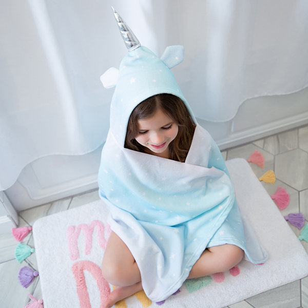 Frank And Lulu Magical Unicorn Hooded Towel