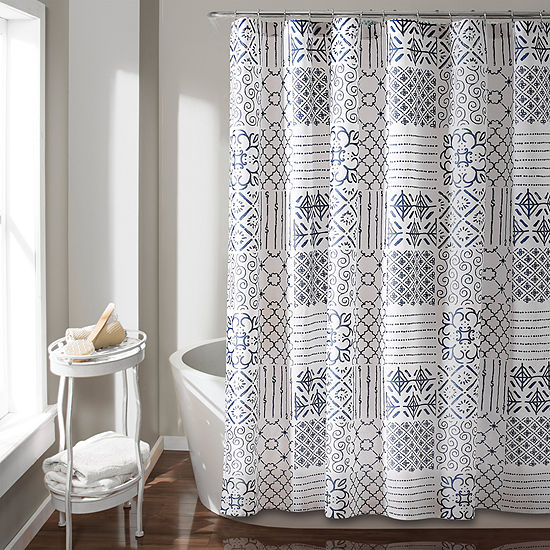 Lush Decor Monique Shower Curtain