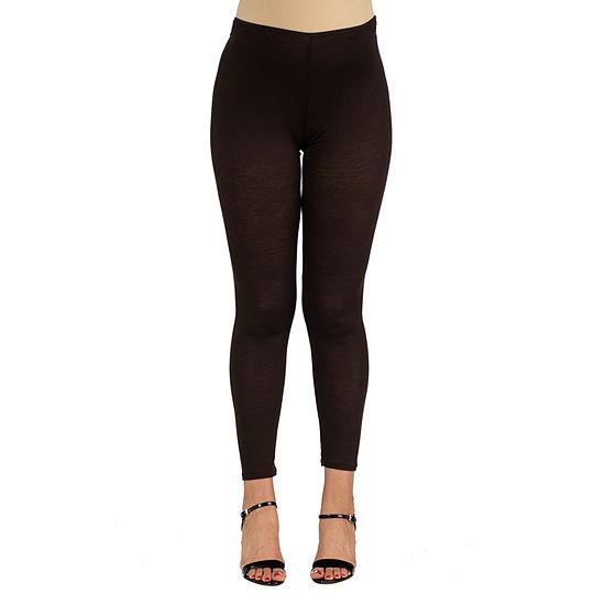 24/7 Comfort Apparel Womens Stretch Ankle Length Leggings