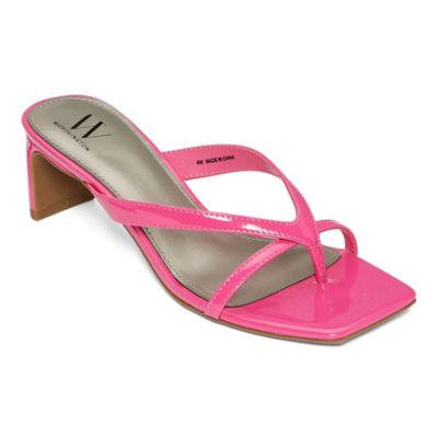 Worthington Womens Goodwin Heeled Sandals