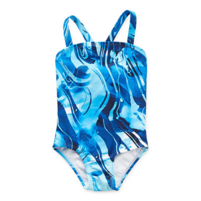Peyton & Parker Family Swim Baby Girls Tie Dye One Piece Swimsuit