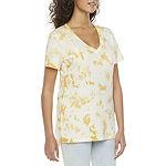 a.n.a Womens Short Sleeve T-Shirt, $5.99