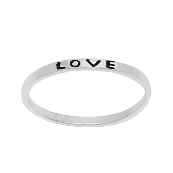 itsy bitsy™ Sterling Silver Love Band Ring