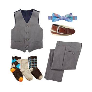 jcpenney.com | IZOD® Vest, Pants, Bow Tie, Belt or Gold Toe® Socks - Boys 8-20